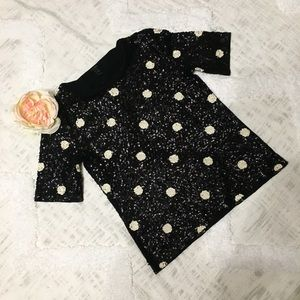 🌸  Stunning J Crew sequin top. Size XS. Like New!